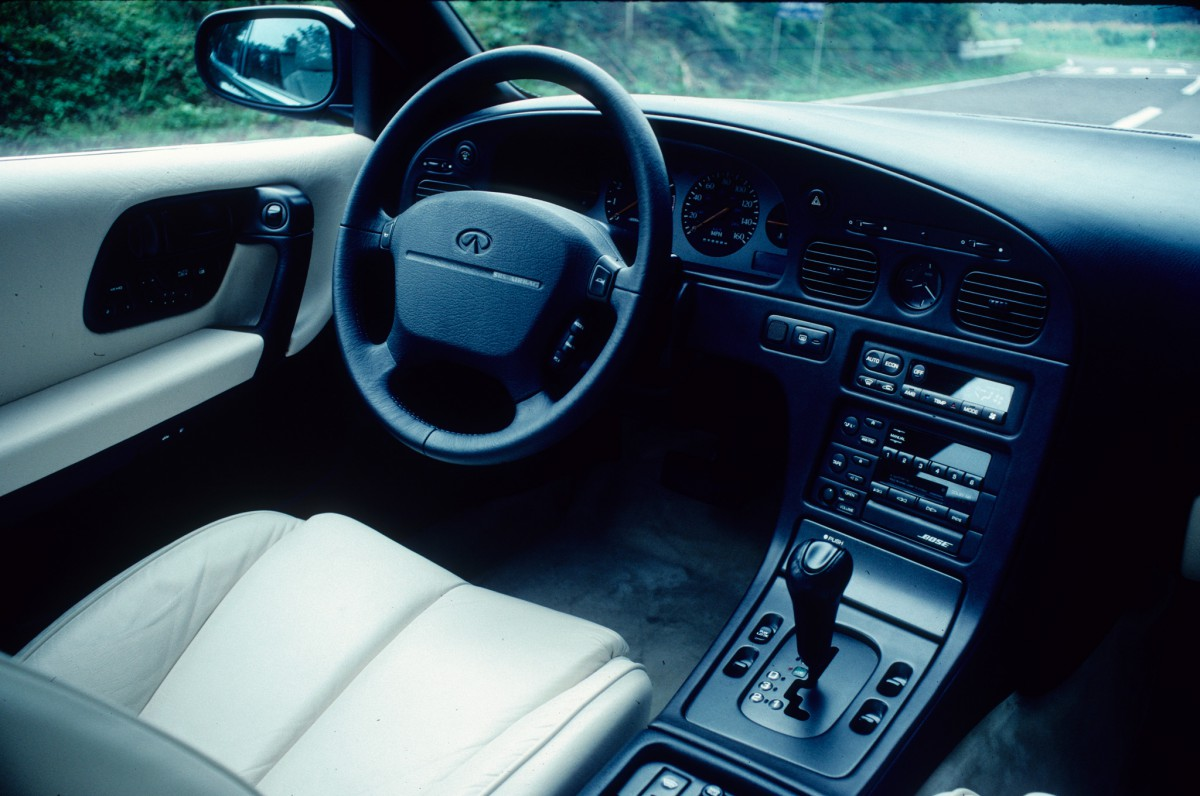 Curbside classic infiniti q45 lm good enough im smart enough what potential customers likely did notice unfortunately was the misguided interior decor for all the criticism directed at ls400 for its derivative vanachro Choice Image