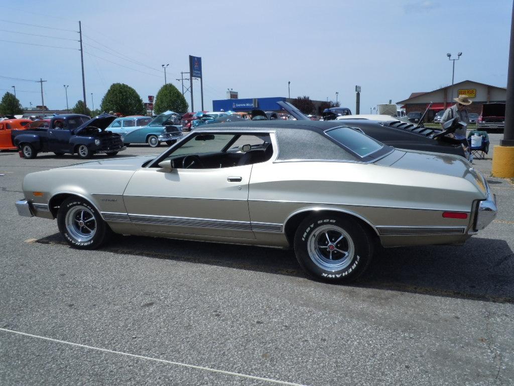 Car Show Classic 1973 Ford Gran Torino Self Esteem Issues