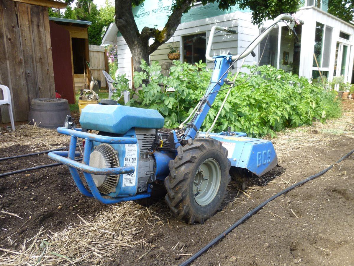 Acme Garden Tractor : Gardenside classic bcs two wheel tractor my