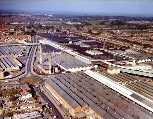 Cowley 1972 looking North