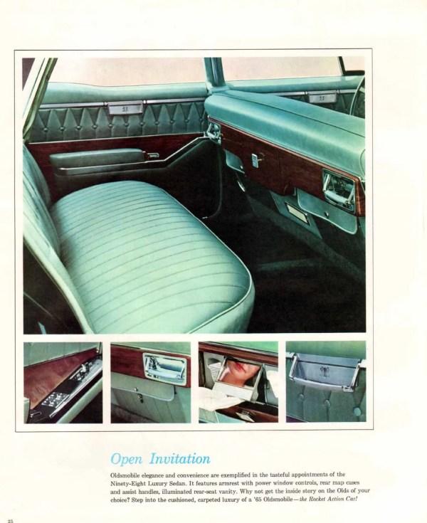 Oldsmobile 98 1965 Luxury sedan