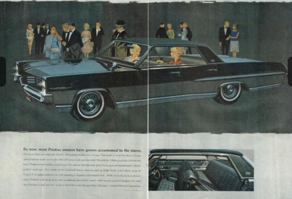 Pontiac Brougham 1964 ad