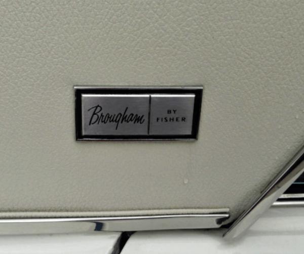 Pontiac Brougham 1964 badge