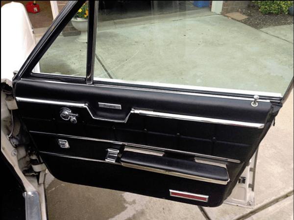 Pontiac Brougham 1964 door int Dave S