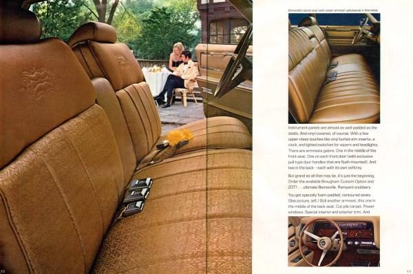 Pontiac Brougham 1970 int