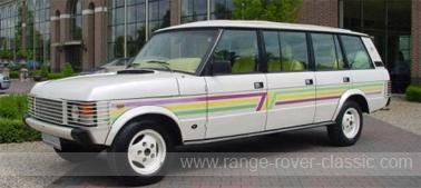 Range Rover Wood & Pickett Sheer Line 6 door Limousine Conversion 01 W