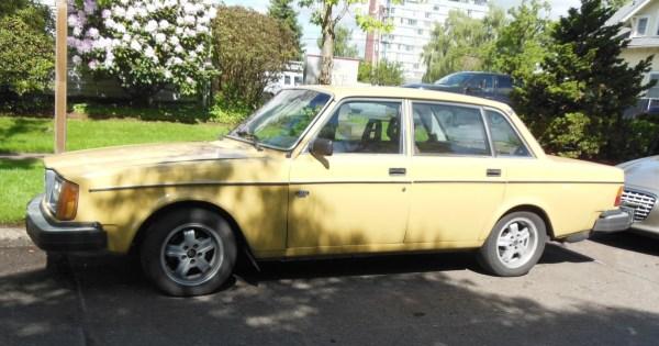 Volvo 244 on Olive st