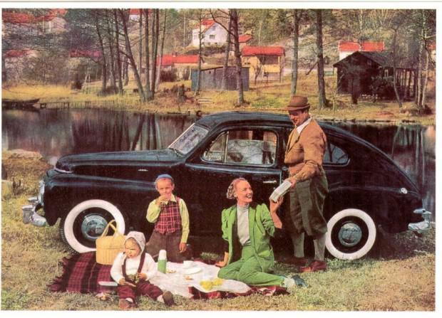 Volvo PV 444 picnic