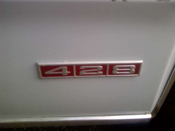 mercury 428 badge