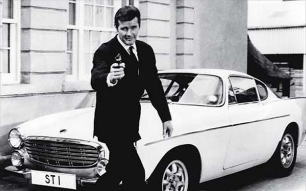 volvo P1800s roger_moore1319548312