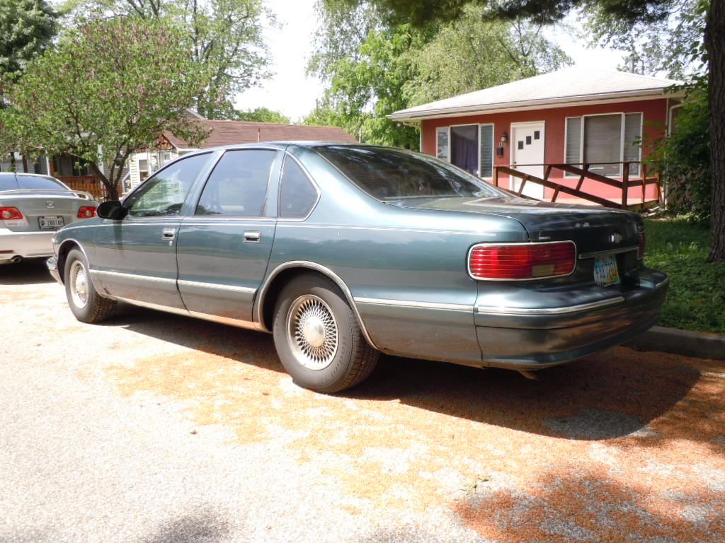 Curbside Classic: 1995 Chevrolet Caprice Classic – Engineers