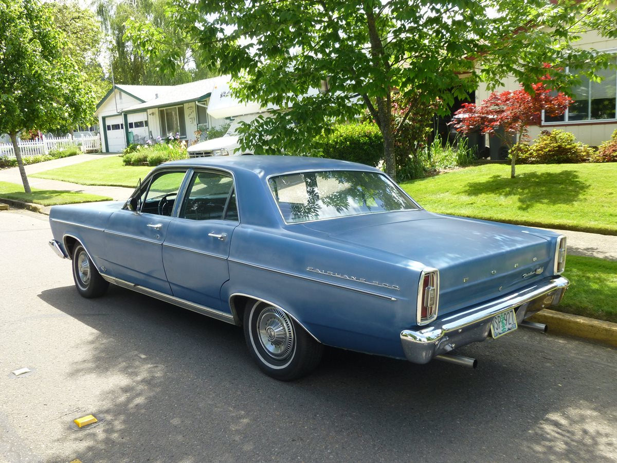 But it was a breath of fresh air and 66 fairlane sales jumped almost 50 over the 65s lackluster results now about that middle section
