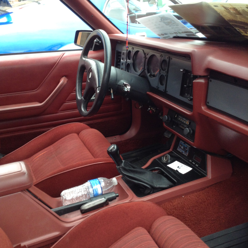 Capri Rs Turbo Interior