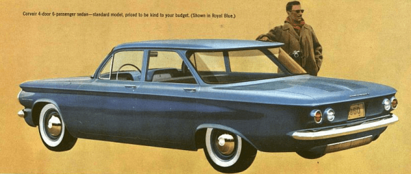 Corvair 1960 blue