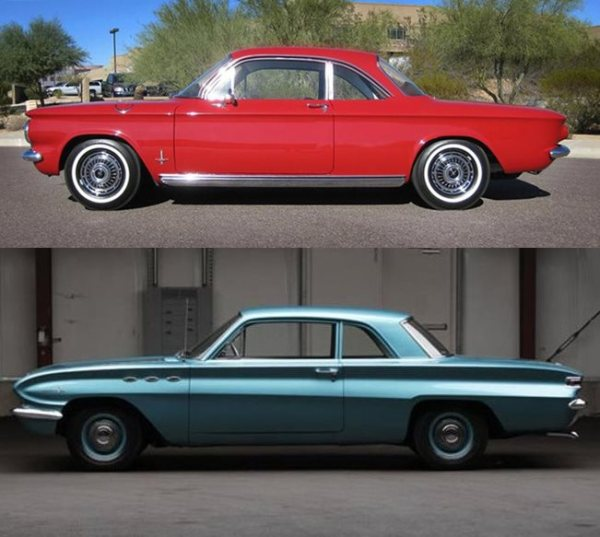 Corvair  1961 coupe red crop-vert