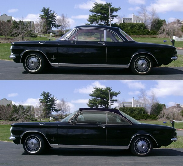Corvair 1961 hardtop black