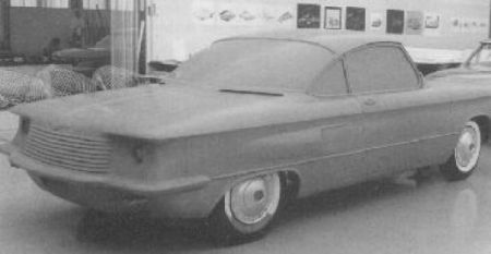 Corvair coupe clay 1957