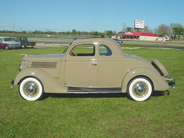 Ford 1936 bus coupe