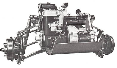 Goliath GP-700 (Borgward Group) Driveline