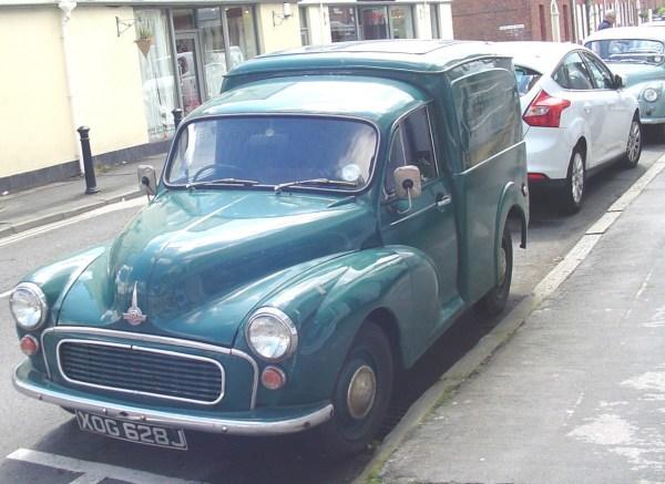 Morris Minor van-2