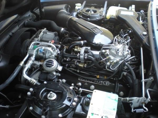 Rols Silver Spirit Engine