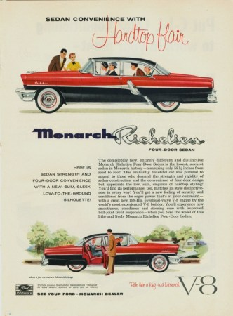 1955 Monarch Ad