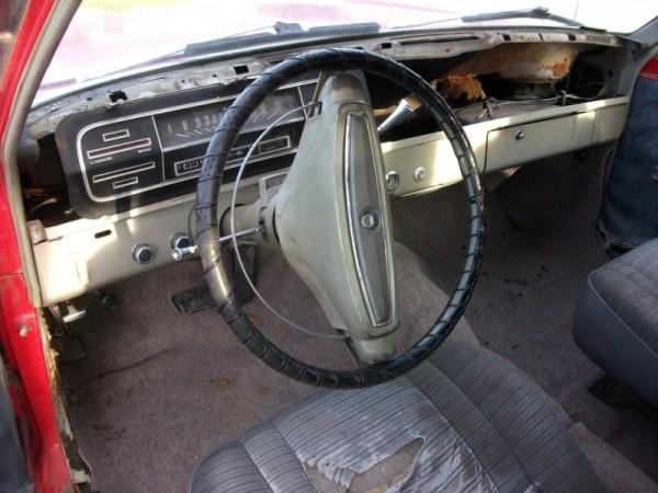 1968 Ford Falcon interior