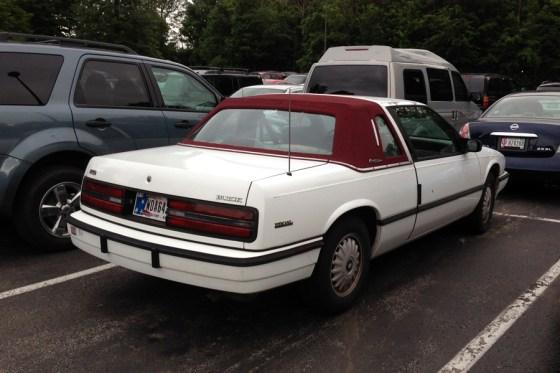 1991 Buick Regal Custom Edition a