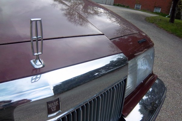 curbside classic 1986 lincoln mark vii \u2013 aero luxury Lincoln Mark VIII Interior
