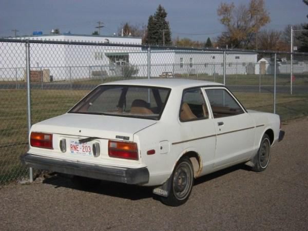 Datsun 210 rear