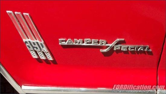 Ford F250 390 badge