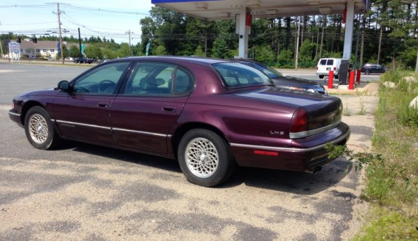 curbside classic 1996 chrysler lhs lost hopeless soul curbside classic curbside classic 1996 chrysler lhs