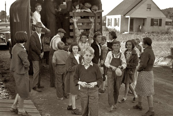 Shorpy school bus 1935 W Virginia