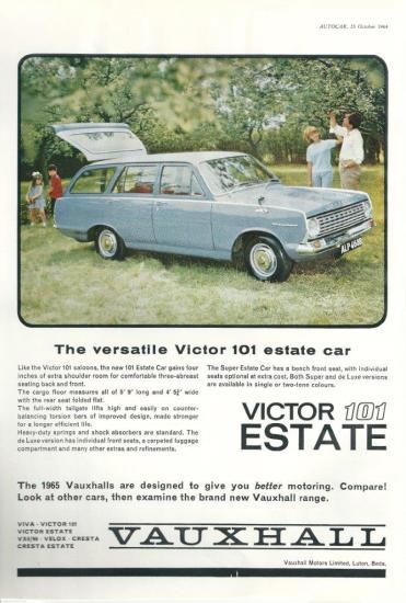 Victor FC advert 1964