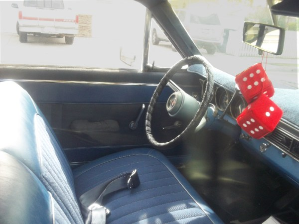 1967 Mercury Comet interior