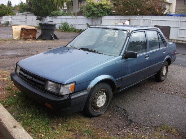 1987 Toyota Corolla as bought