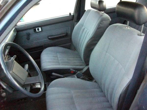 1987 Toyota Corolla interior