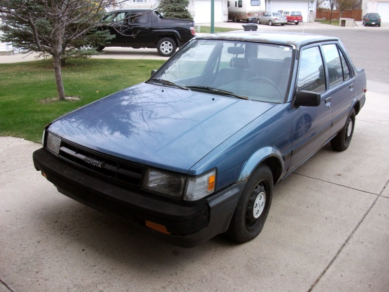 Coal 1987 Toyota Corolla I D Rather Walk