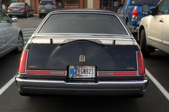 1988 Lincoln Mark VII LSC b