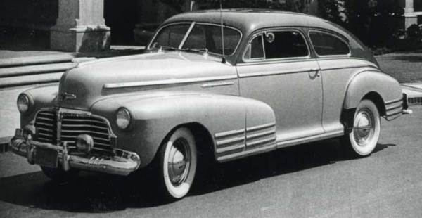 Chevrolet 1942 fleetline