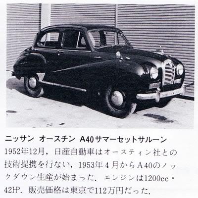 Datsun 1952 105 A40