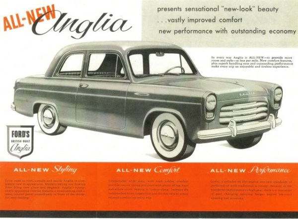 Ford UK Anglia 1953