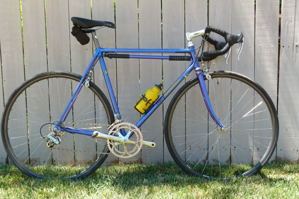 HH Racing Group Professional custom. Old-school lugged steel frame, modern components.