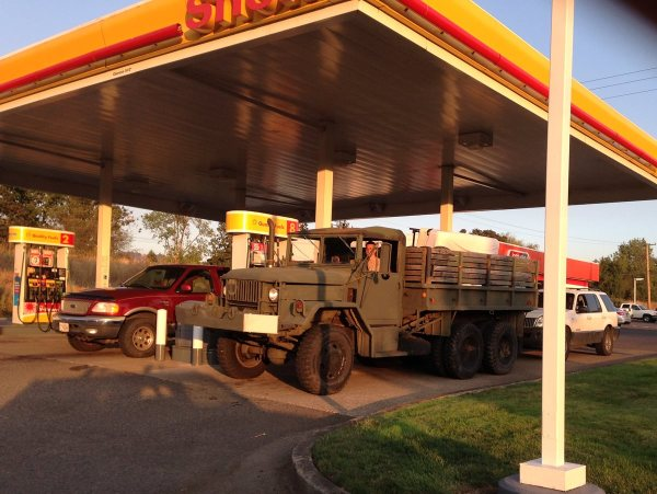 M35 Miltary truck moving day 1200
