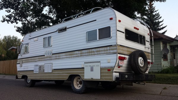 Motorhome rear