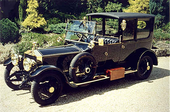 RR silver ghost 1915