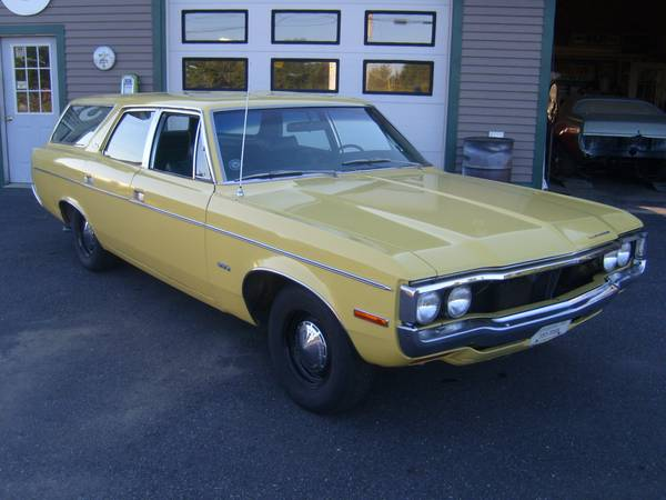 Craigslist Find: 1971 AMC Matador Wagon – Vacay Catch Of The