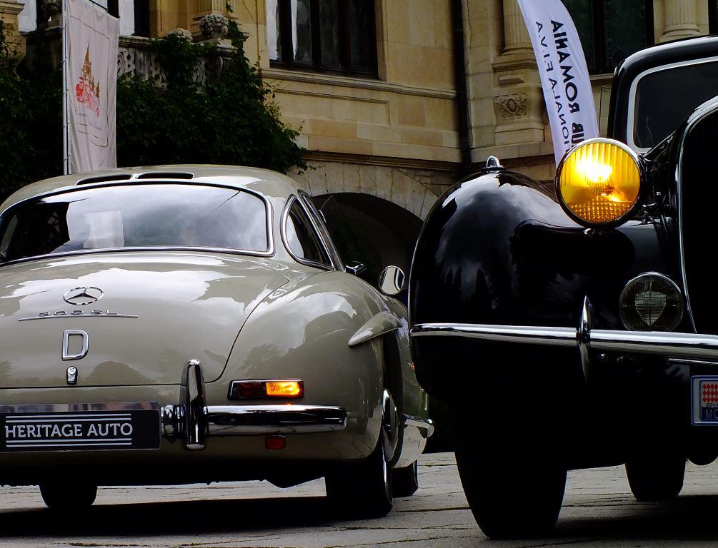 Car Show Classics The Sinaia Concours Delegance Splendid - Toth buick car show
