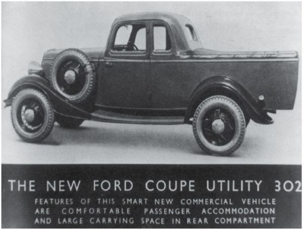 1934 ford ute australia