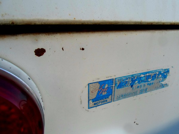 1965 Envoy Epic dealer sticker